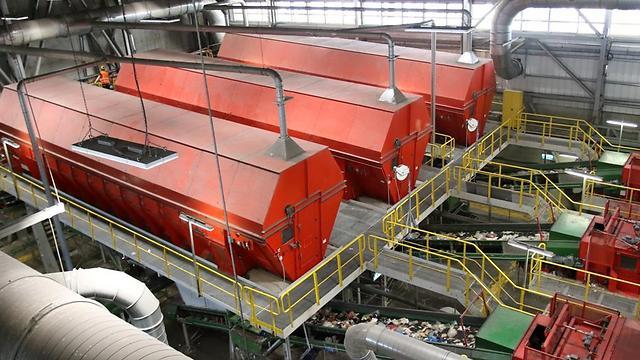 המפעל שהופך פסולת לדלק (צילום: אבי מועלם)