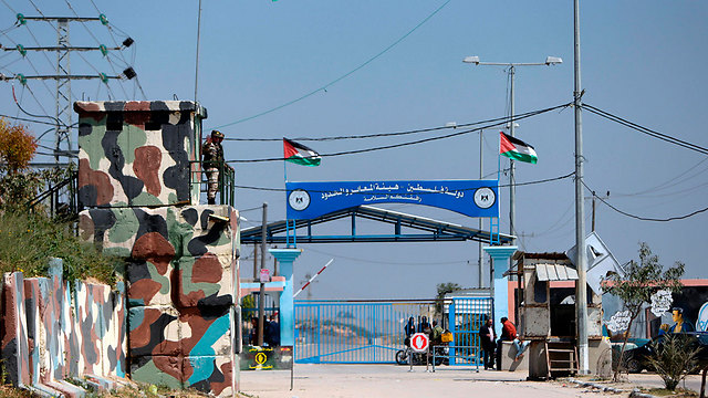 Palestinian side of the Erez Crossing (Photo: AFP)