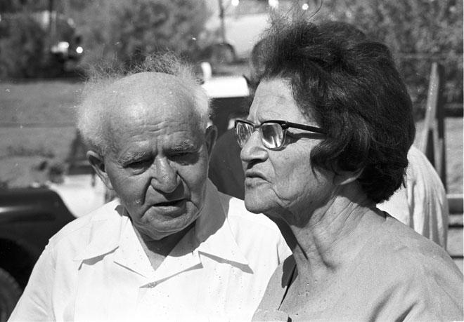 """""""אין מצב שביבי ושרה היו עוזבים את קיסריה ויוצאים להפריח את השממה"""". הקליקו על התמונה (צילום: דוד רובינגר)"""