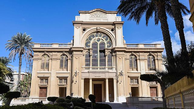Eliyahu Hanavi synagogue in Alexandria (Photo: AFP)