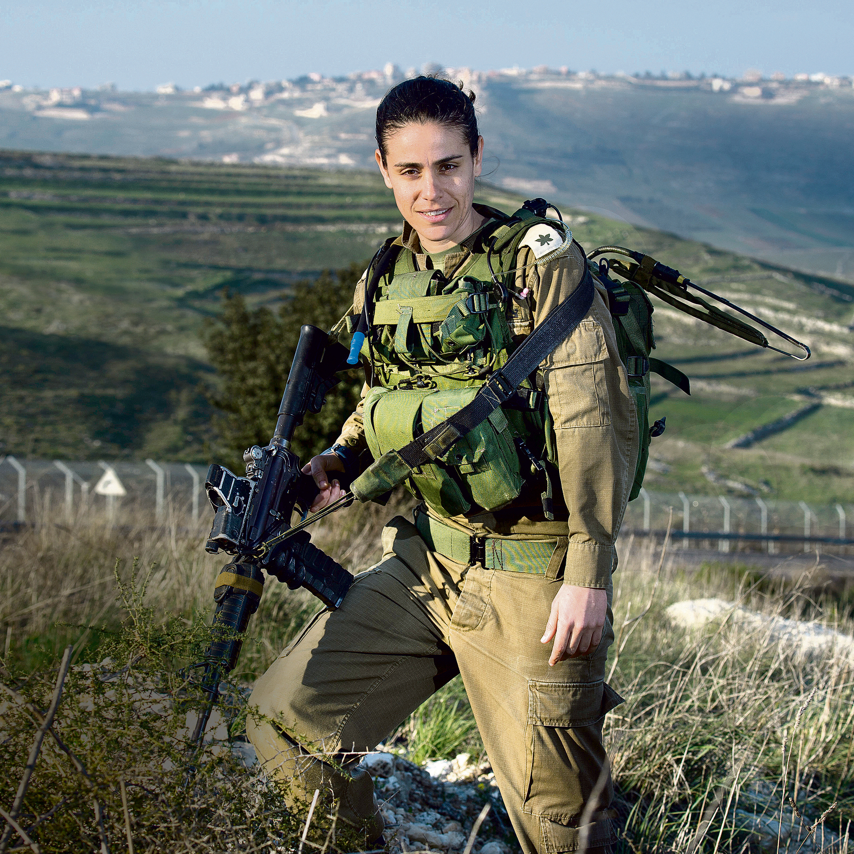 Maj. Dana Ben-Ezra (Photo: Efi Shrir)