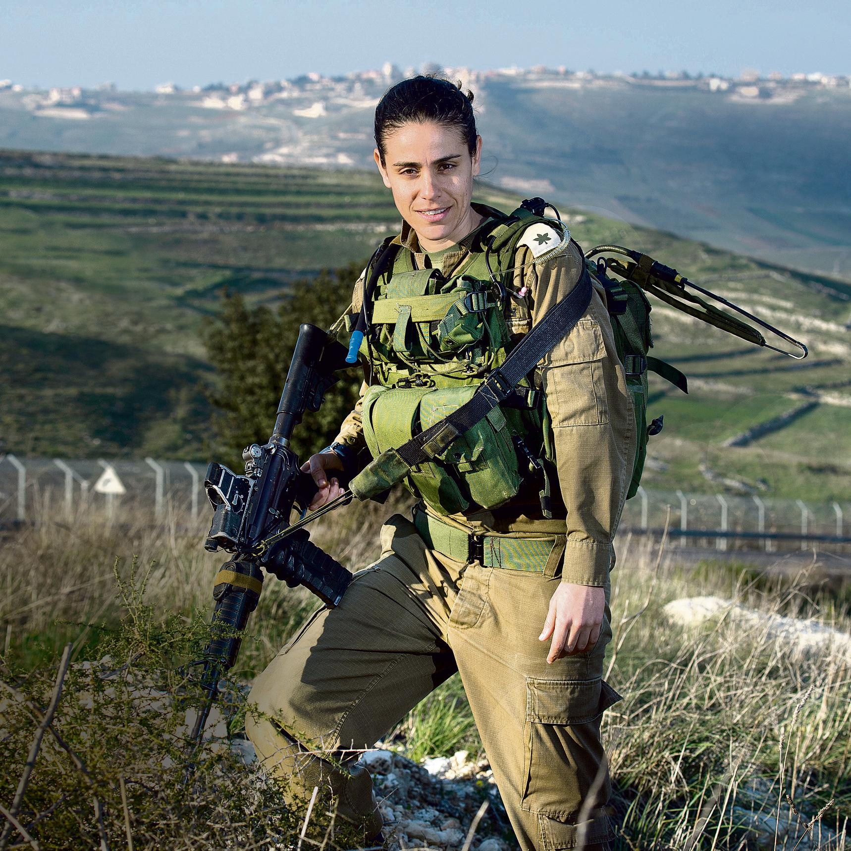 Maj. Dana Ben-Ezra (Photo: Efi Shrir)