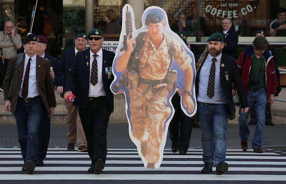 קמפיין למען בלקמן, שהובילה אשתו  (צילום: AFP) (צילום: AFP)