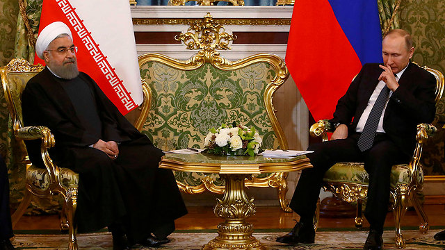Putin and Rouhani (Photo: Reuters)