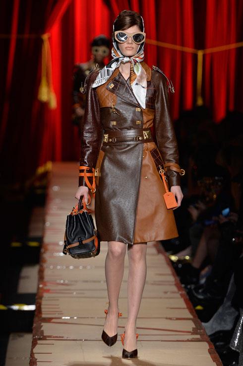 האם עולם האופנה צועד לעבר מראה חסוד? מוסקינו (צילום: Gettyimages)