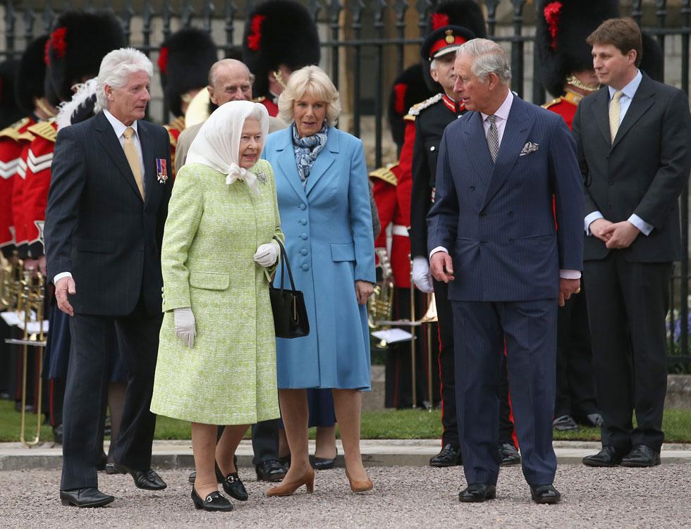 ההשראה? מלכת אנגליה אליזבת השנייה (צילום: Gettyimages)