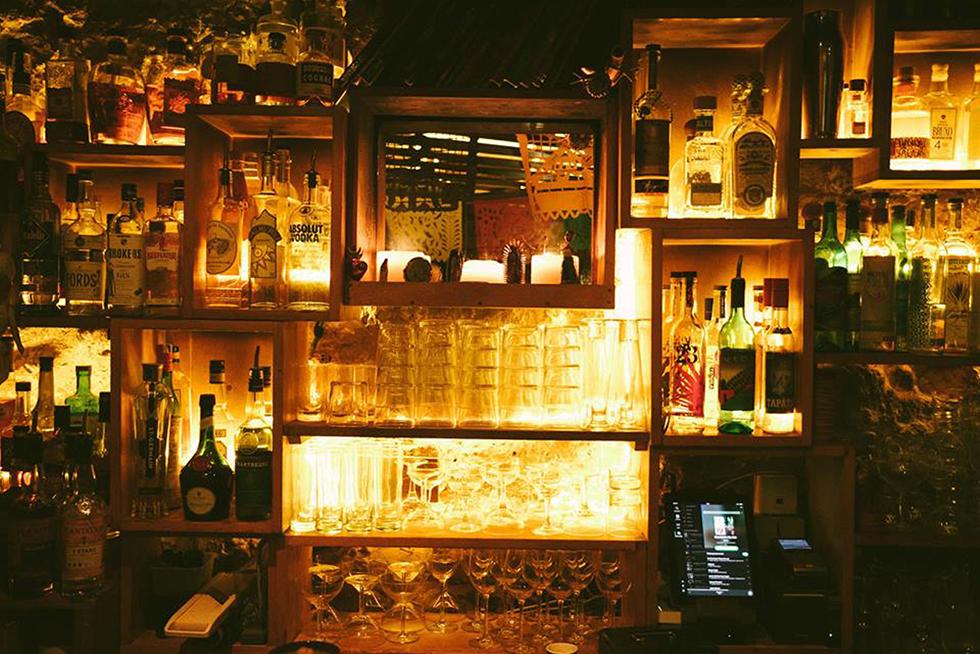 הבר הסודי מאחורי מסעדת הטאקוס הקטנה: קנדלריה