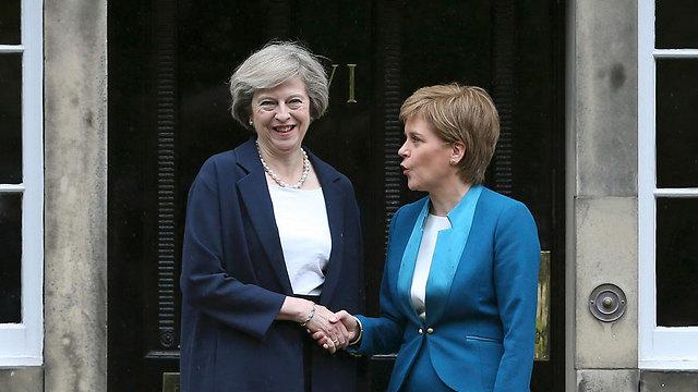 May and Sturgeon meet (Photo: Reuters)