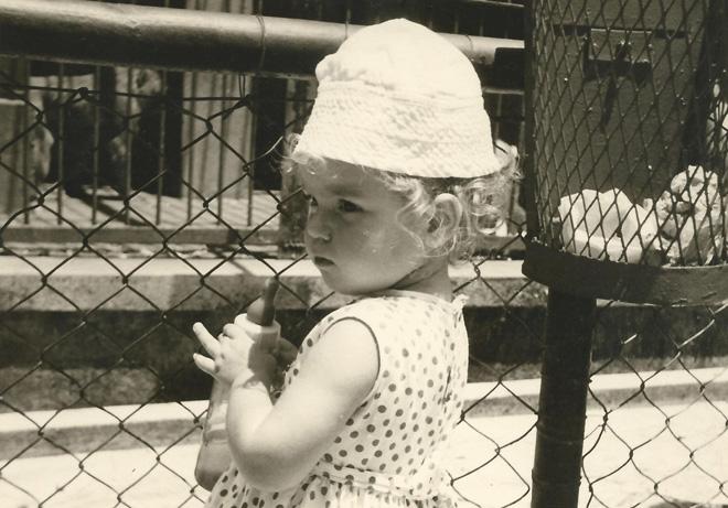 """תמונת ילדות. """"גדלתי בבית מחבק, עשיר ומעשיר"""" (צילום: מתוך אלבום פרטי)"""