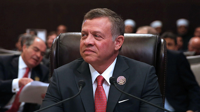 King Abdullah of Jordan at the Arab League summit (Photo: AFP)