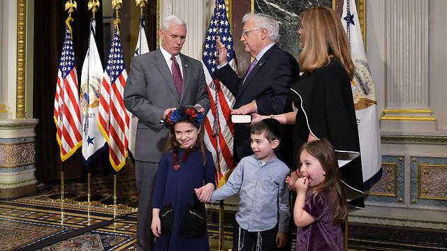 Пенс и Фридман. Фото: AFP