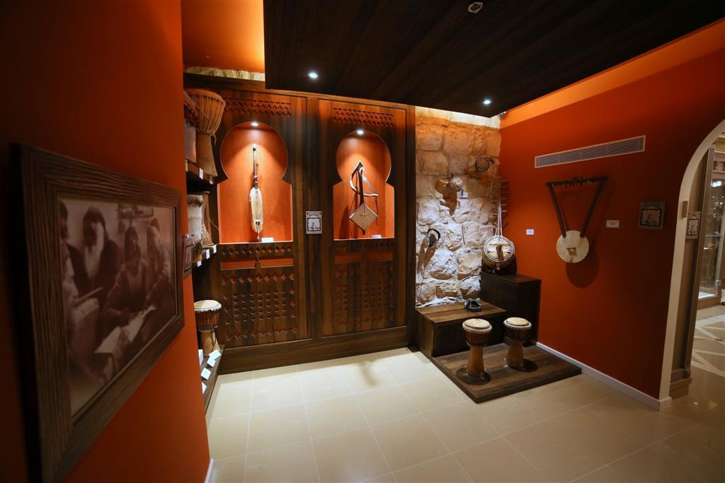 החלל האפריקאי במוזיאון המוזיקה העברי ()