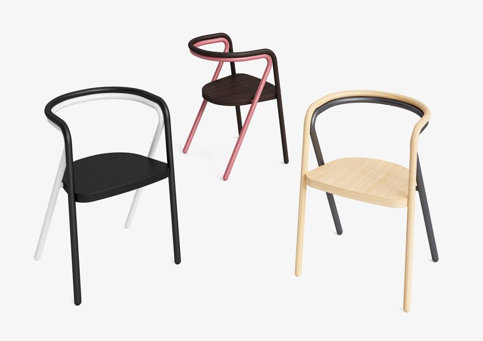עוד ייצוג ישראלי: הכיסאות של סטודיו בייקרי בשיתוף פעולה עם קאפליני (צילום: קאפליני)
