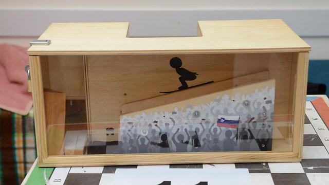 """הכספת המנצחת של הסלובנים (צילום: יח""""צ)"""
