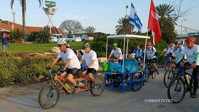 Wheels of Hope (Photo: Israel Police) (Photo: Israel Police)