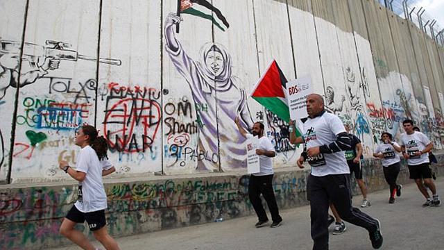 The Palestine Marathon (Photo: AFP)