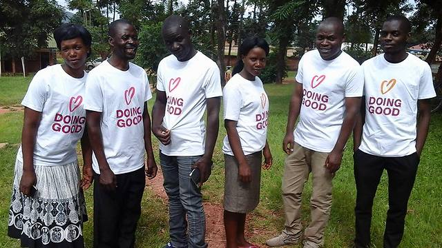 יום מעשים טובים בינלאומי: תערוכה, תהלוכה ופעילויות באפריקה (צילום: באדיבות רוח טובה)