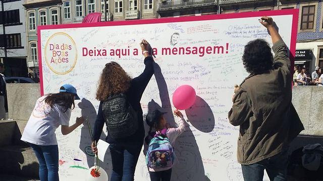 לראשונה הצטרפה פורטוגל למדינות שעושות טוב (צילום: באדיבות רוח טובה)