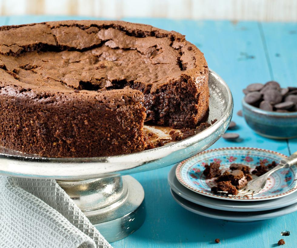 עוגת שוקולד כשרה לפסח (צילום: בועז לביא, סגנון: נעם קנריק)