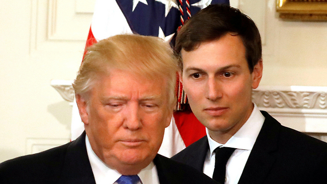 Trump (L) and Kushner (Photo: Reuters) (Photo: Reuters)