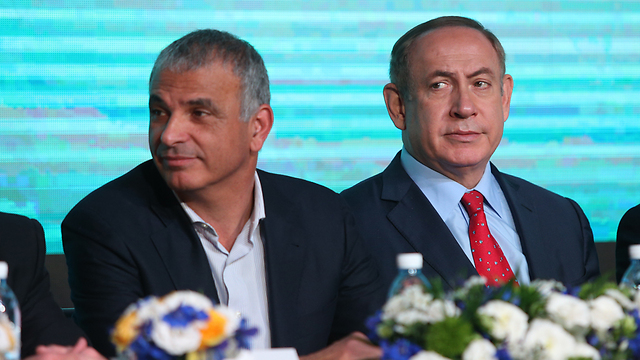 Kahlon and Netanyahu (Photo: Amit Shabi) (Photo: Amit Shabi)