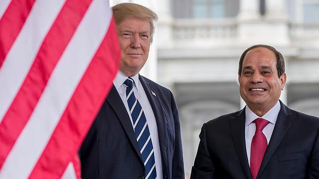 President Trump and President al-Sisi (Photo: AP)