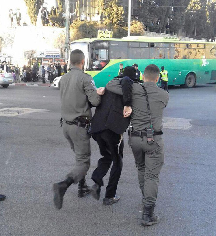 מחאה גם בירושלים (צילום: חיים גולדברג) (צילום: חיים גולדברג)
