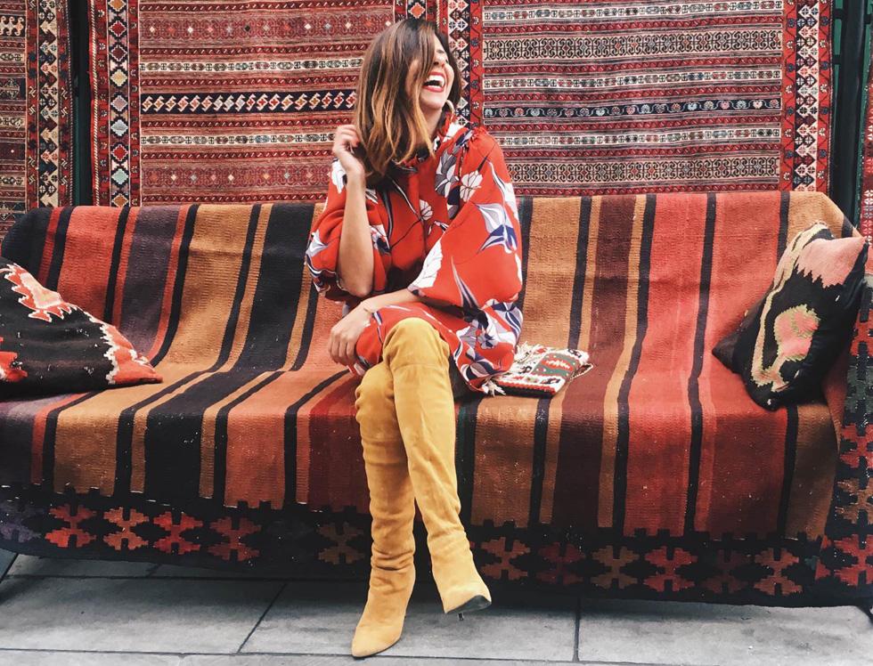"""""""טביליסי הפתיעה אותי בכל מה שקשור לסצנת האופנה"""" (צילום: מתוך האינסטגרם של YA SALAM FASHION BLOG)"""