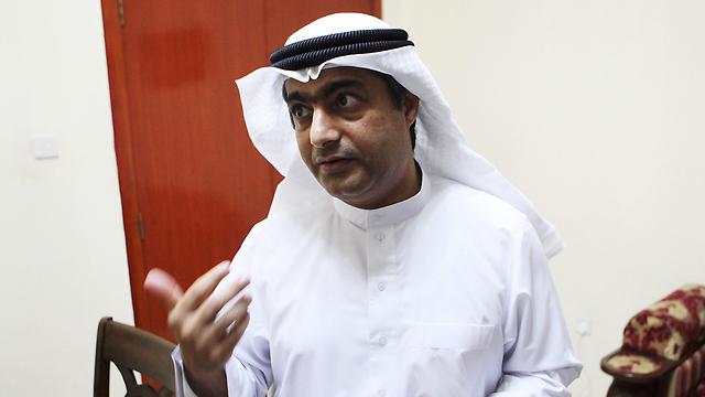 אחמד מנסור, פעיל זכויות אדם (צילום: AP) (צילום: AP)