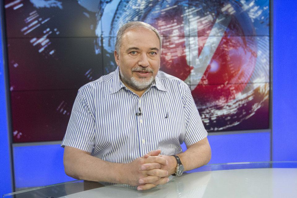 """Авигдор Либерман в студии """"Вестей"""""""