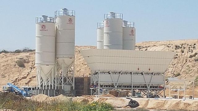 Цементный завод на границе