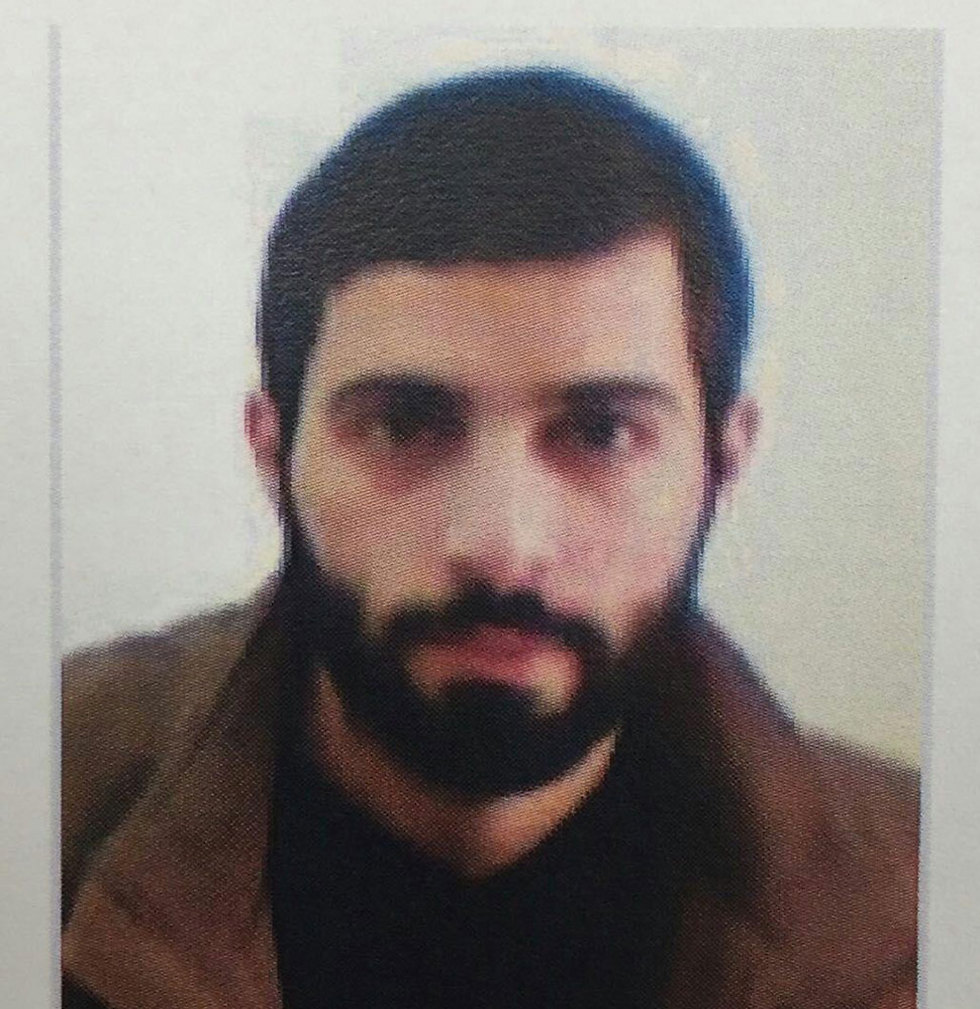 Malak Kazmar, Hamas recruiter charged with terrorism activities (Photo: Shin Bet)