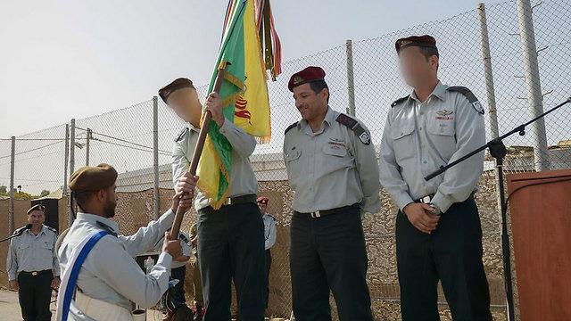 """סא""""ל ר' בטקס כניסתו לתפקיד מפקד יחידת אגוז (צילום: דובר צה""""ל) (צילום: דובר צה"""