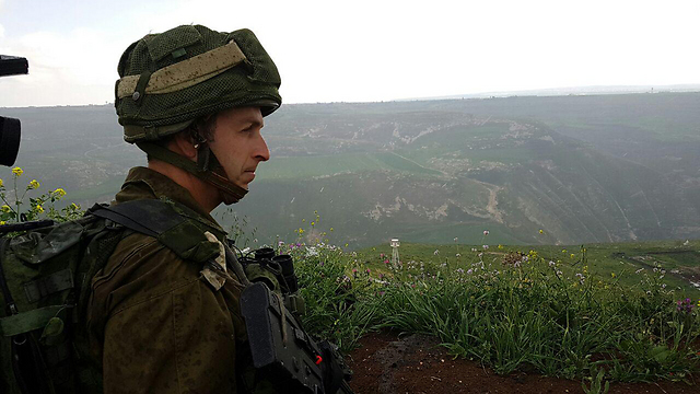 Lt. Col. Nir Ben Hamo, commander of the Givati patrol unit (Photo: Yoav Zitun)