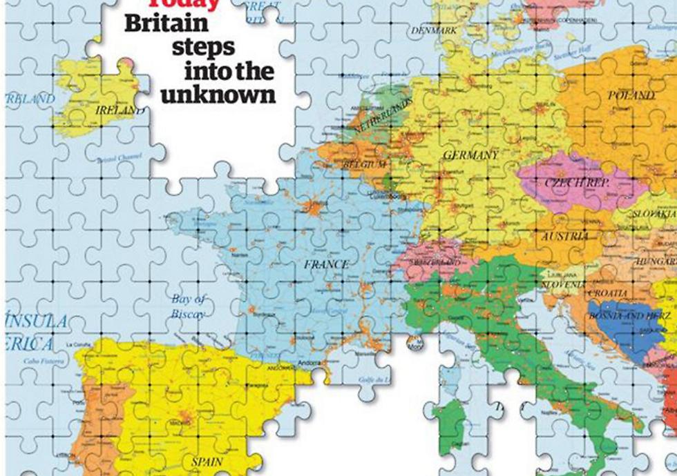 מדינות אירופה מתקדמות בצעדים ענקיים לכיוון לאומני והאיחוד האירופי נמצא בסכנת הכחדה  ()