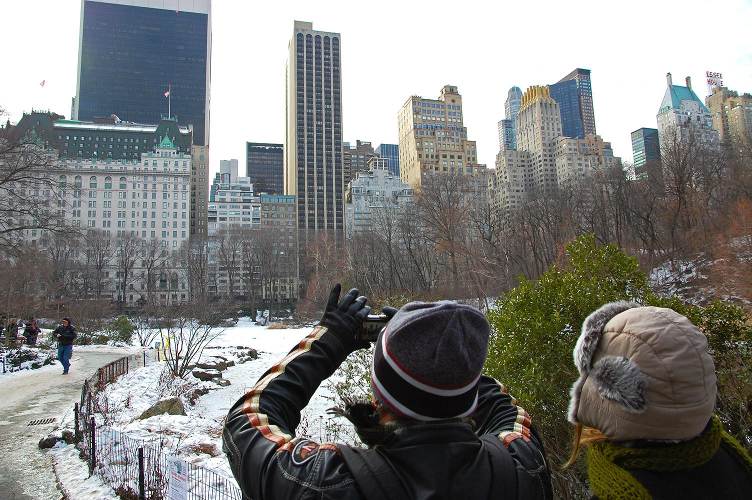 חורף בניו יורק (צילום: xplorer)