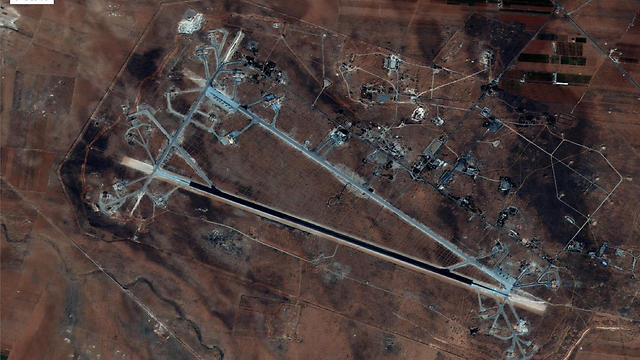 Shayrat Airfield in Homs, Syria (Photo: AFP) (Photo: AFP)