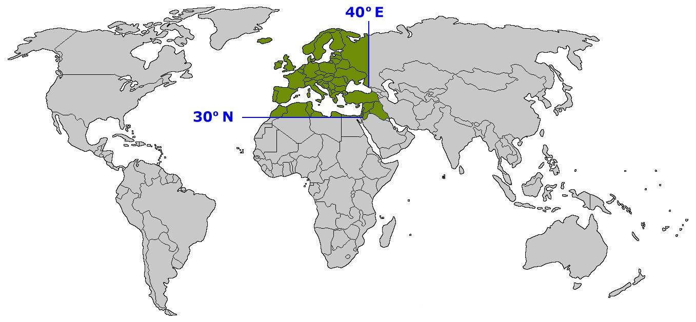 The European Broadcasting Area (Photo courtesy of Eurovison.tv)