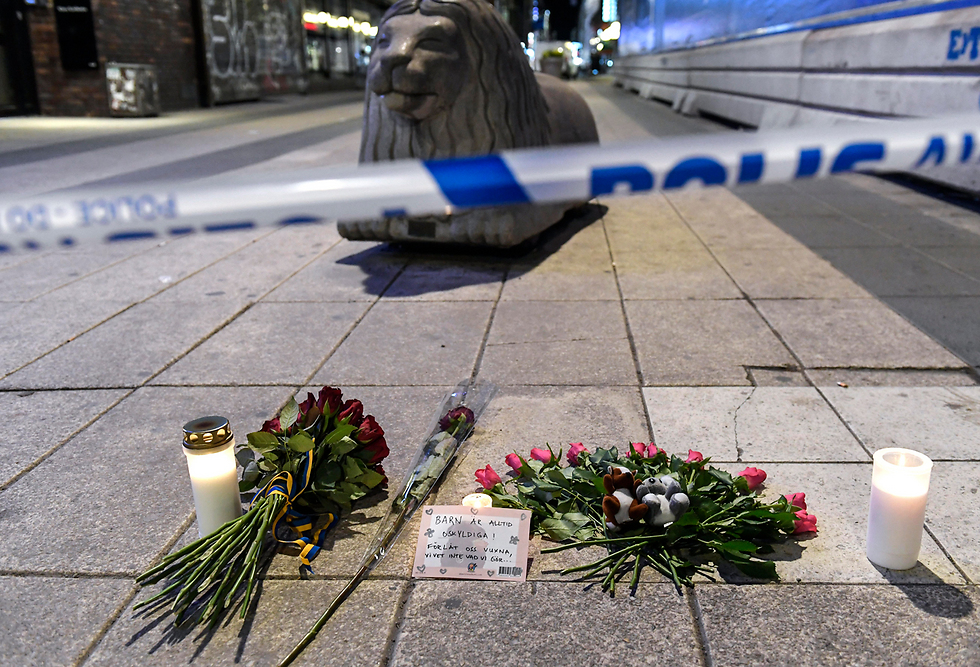 The site of the attack (Photo: EPA)