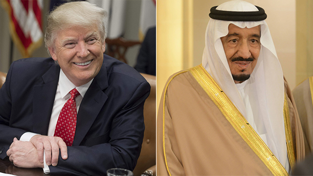 Trump and the King of Saudi Arabia (Photo: AFP, MCT)