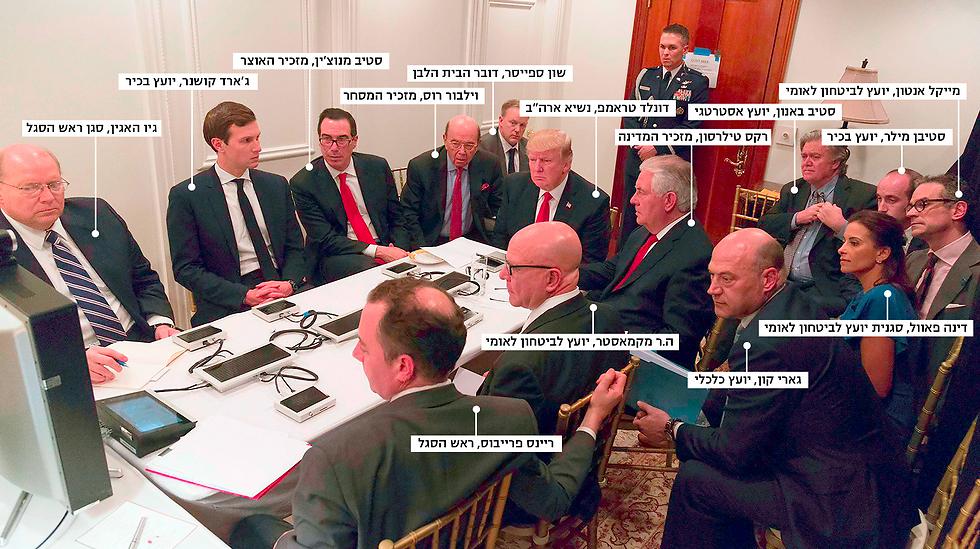 שבעה מתוך חמישה-עשר המשתתפים הם יהודים (צילום: AFP)