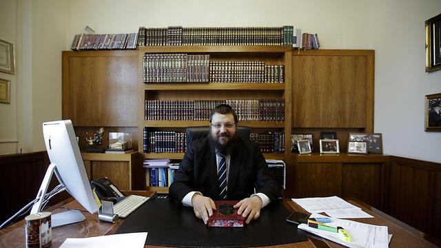 Rabbi Yehuda Teichtal (Photo: AP)