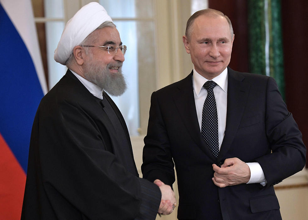 Rouhani and Putin (Photo: MCT) (Photo: MCT)