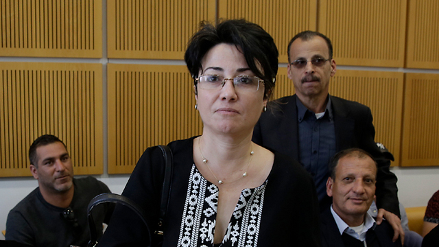 Hanin Zoabi (Photo: Yehuda Perez)