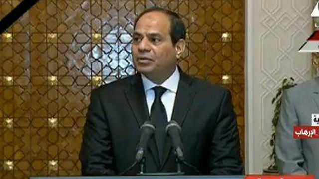 Egyptian President Abdel Fattah al-Sisi is putting a lot of effort into defeating ISIS in Sinai, but is finding it hard to get rid of the terror organization in light of the difficult economic situation in the area