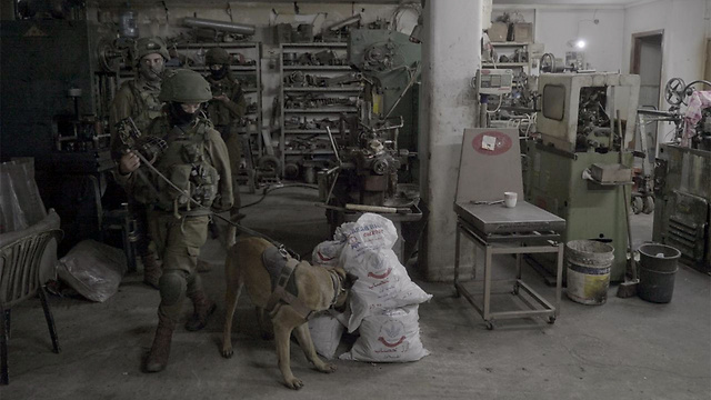 Illegal weapons manufacturing workshop (Photo: IDF Spokesperson)