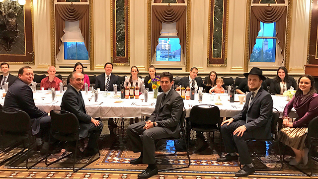 סעודת ליל הסדר שהתקיימה בבית הלבן