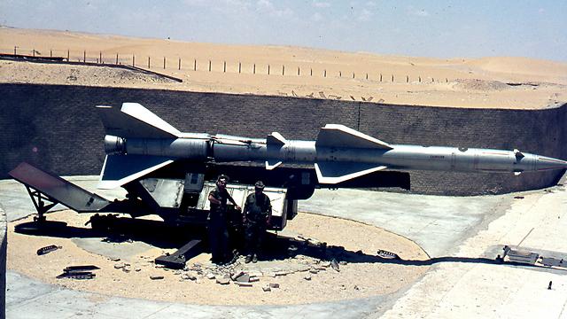 """בסיס טילים מצרי שאויש ע""""י רוסים (צילום: צבי מימון)"""
