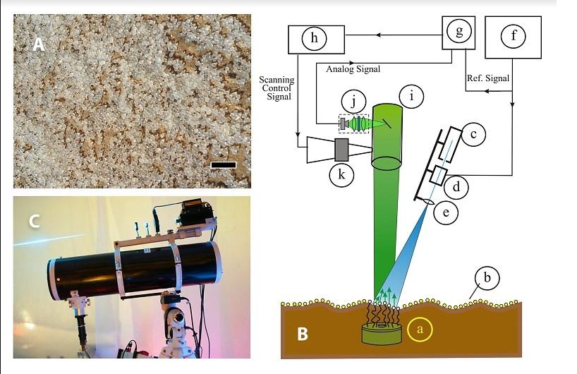 Бактерии проти мин - схема. Фото: Еврейский университет