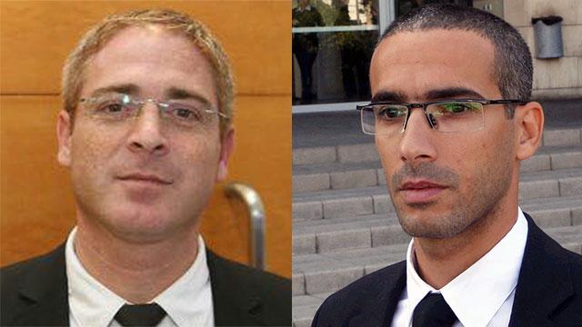 עורכי הדין יהלי שפרלינג ושחר חצרוני (צילום: מוטי קמחי) (צילום: מוטי קמחי)